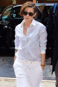 Menswear-Inspired Dressing: Kristen Stewart    ✿♥‿♥✿