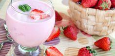 Peach Strawberry Cream Shake