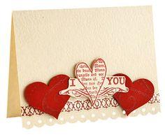 Valentines Day handmade card