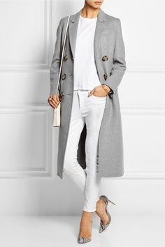 Burberry Prorsum|Manteau en feutre de cachemire