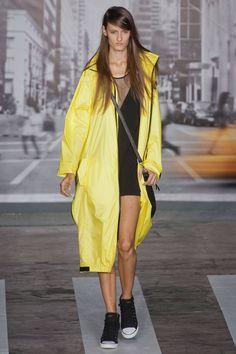 DKNY Spr '13 - Rainy Runway