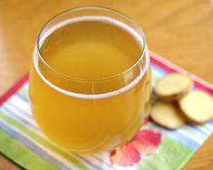 Faux Kombucha Recipe--get the probiotics and tangy flavor in 5 minutes! #vegan #sugarfree