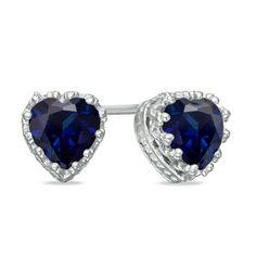 Love white diamond and blue saphire
