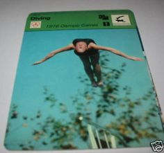 #Diving 1976 #olympic games - sc #collector card,  View more on the LINK: http://www.zeppy.io/product/gb/2/361707967527/