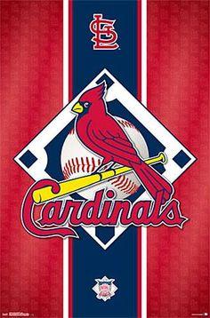 St. Louis Cardinals MLB Baseball Official Team Logo Poster - Trends  International 362e99569