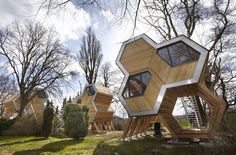 Life in the trees  Treehouses have become creative eco-statements in the design world.  Top local and international architects, artists and designers will be invited to design for the event a modern treehouse, created from sustainable and recycled materials