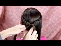 Spiral Braid Ponytail, Twist Hairstyle - YouTube