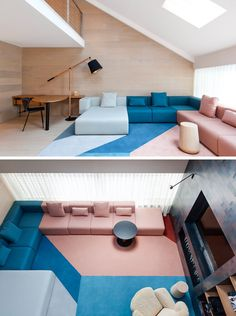 8 Ideas For Introducing Pastels Into Your Interior // Pastel Furniture --- If you're eager to make more of a style statement, opt for pastel colored furniture. Large pieces of furniture in pastel colors make your space fun and brighten it up.