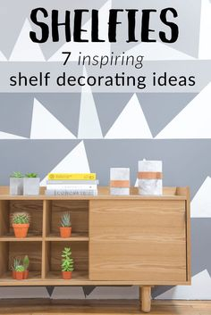 inspiring shelf deco