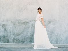 Italian Wedding Inspiration!   Milagro Winery Wedding   Archive Rentals   Mirelle Carmichael Photography. Read More on SMP! Read More on SMP: http://www.stylemepretty.com/california-weddings/2016/05/05/cropped-top-two-piece-new-spring-style-crush/