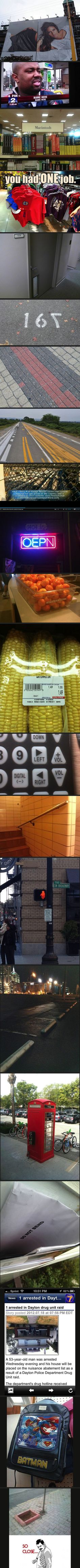'You had one job' collection - DayLoL.com - Your Daily LoL and Entertainment!
