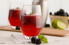 Summer Blackberry Crush Cocktail