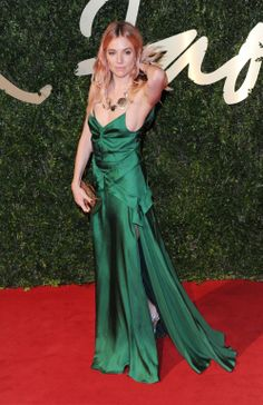Sienna Miller British Fashion Awards 2013