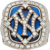 Baseball Collectibles:Others, 2009 New York Yankees World Series Championship Ring. Yankees Fan, New York Yankees Baseball, Damn Yankees, Diamond Theme, Yankees World Series, World Series Rings, New York Basketball, Gold Bodies, Championship Rings