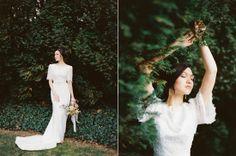 Natural Elegance Bridal Bouquet | Design by Amber Reverie | See More: http://blog.amberreverie.com/2013/05/jessicas-bridal-bouquet.html