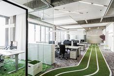 Start-up-Büro Onefootball, TKEZ architecture & design
