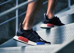 First NMD's     by @cirixkid  www.blkvis.de  _____________________________  #Adidas #NMD #adidasnmd #sneaker #sneakers #kicks #sole #footwear #shoe #shoes #instacool #instagood #instagram #instalike #instasize #instalove #instafollow #awesome #amazing #red #blue by blkvis