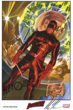 Daredevil by Alex Ross                                                                                                                                                                                 More