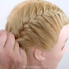 Easy Hairstyles For Medium Hair, Baby Girl Hairstyles, Braided Hairstyles Tutorials, Twist Hairstyles, Ponytail Hairstyles, Cute Hairstyles, Medium Hair Styles, Curly Hair Styles, Natural Hair Styles
