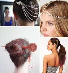 Hair jewellery.. Would you? Do you?
