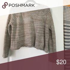 Beige pullover Classic staple Ecote Sweaters Crew & Scoop Necks
