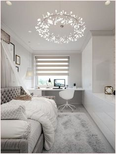 Small Bedroom Designs, Small Room Design, Room Design Bedroom, Small Room Bedroom, Room Ideas Bedroom, Home Decor Bedroom, Small Rooms, Ikea Bedroom, Bedroom Furniture