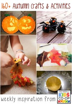 mollymoo.ie - Autumn Art and Activities, Weekly Kids CoOp