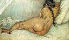 Female back act Vincent Van Gogh