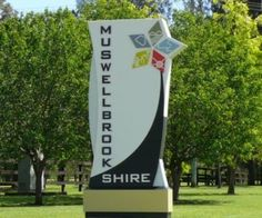New entry signs to Muswellbrook Shire