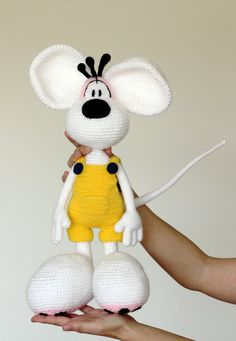 Diddle stuffed toy