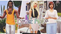 Explore Mod 🚦 Sims Mods, Sims 4 Game Mods, Sims 4 Cc Eyes, Sims Cc, Best Sims, Sims 4 Custom Content, I Am Game, Going To Work, How To Do Nails