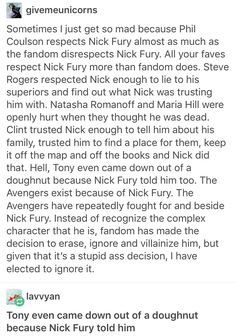Nick fury director fury marvel mcu avengers Phil coulson Clint Barton hawkeye Natasha romanoff Maria hill Tony stark iron man