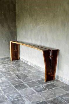 Bono wood console by Blaxsand