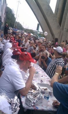 Calhoun's Rib-Donkulous contest at Boomsday 2011