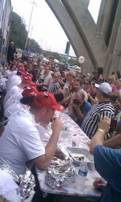 Calhoun's Rib-Donkulous contest at Boomsday 2011