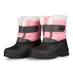 abd22c287bd8 Childrens Powderbug Forty Winter Boot (Toddler Little Kid). See more.  S602PNK3 Girls Insulated Snow Boots Stay Warm Dry Easy Close Waterproof  Size 3