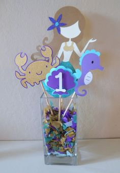 Mermaid Center piece