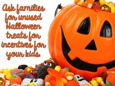 Trick & Treat Blog Hop - No Candy At School - Simply Kinder