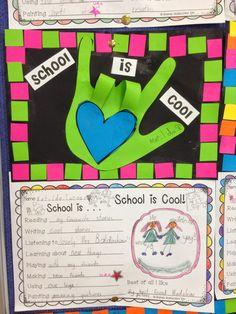 Classroom Fun: School is Cool ~ Back to School Activity