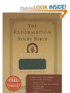 The Reformation Study Bible - Leather-Like Gray by R. C. Sproul. $41.99. Save 30% Off!