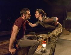 First Look: Hugh Jackman Returns to Broadway in The River - Photo Flash - Nov 12, 2014