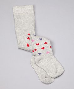 Take a look at this Gray Heart Organic Tights - Infant & Toddler by Blow-Out on #zulily today! #zulily, #fall