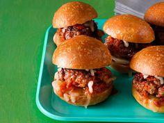 Mini Meatball Sliders Recipe : Ree Drummond : Food Network - FoodNetwork.com