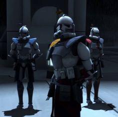 ARC Troopers. Havoc, Blitz, and Colt