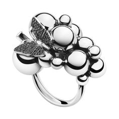 Moonlight_Grapes_Ring_Butterfly_Black_Diamonds