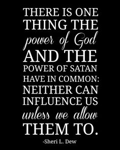 The power of God and satan