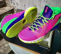 42b533f1b1d 2018 Fashion Nike Kyrie 2018 Cheapest Nike Kyrie 1 ID Think Pink Green Blue