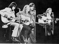 Crosby, Stills, Nash & Young-my first date with my husband in 1982 was to see Crosby, Stills & Nash at MTSU. I later saw the three again with my brother at Starwood in 2004.  I have yet to see Mr. Young-hopefully I will some day.