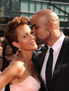 Boris Kodjoe & Beautiful Wife Nicole Ari Parker Hit The Emmy's Red Carpet