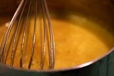 Orange Beurre Blanc Sauce for Seafood ~ Traditional French Beurre Blanc sauce, with the zest of oranges.  Great sauce for seafood dishes. ~ SimplyRecipes.com